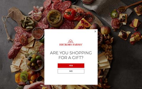 Screenshot of Press Page hickoryfarms.com - In The News | Hickory Farms - captured Nov. 2, 2019
