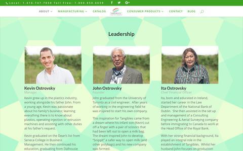 Screenshot of Team Page tangiblesltd.com - Leadership | Tangibles - captured Dec. 20, 2016