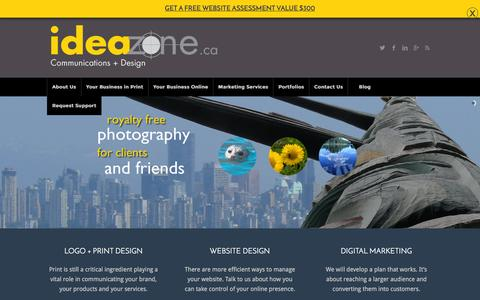 Web Design in Victoria BC | WordPress Websites | IdeaZone