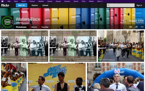 Screenshot of Flickr Page flickr.com - Flickr: waitersrace's Photostream - captured Oct. 27, 2014