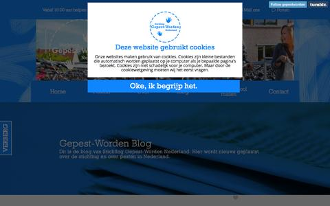 Screenshot of Blog sgpw.nl - Blog | Gepest-Worden.nl - captured Sept. 1, 2015