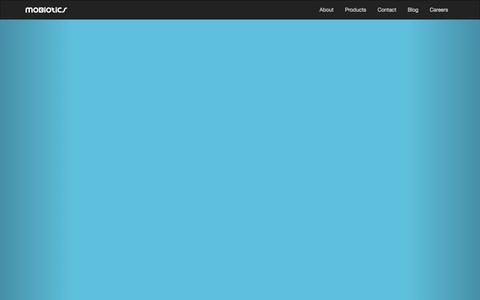 Screenshot of Home Page mobiotics.com - Mobiotics - captured Sept. 30, 2014