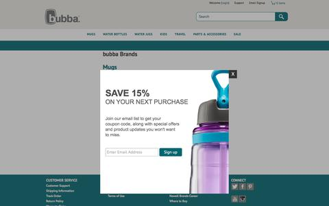 Screenshot of Site Map Page bubbabrands.com - Bubba Brands - Site Map - captured Oct. 11, 2017