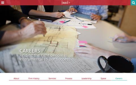 Screenshot of Jobs Page berardipartners.com - Careers   Berardi + Partners - captured Nov. 22, 2016