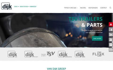 Screenshot of Home Page dijkauto.nl - Home - Ontdek het totaalpakket van - Van Dijk Groep - captured Oct. 18, 2018