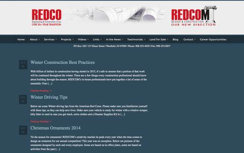 Screenshot of Blog redcomllc.com - Blog | REDCOM - captured Nov. 9, 2015