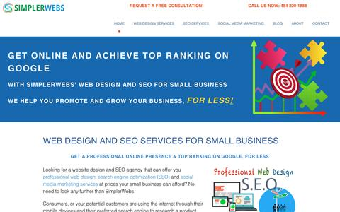 Affordable responsive web design & SEO for small business.