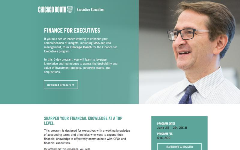 Executive Education at Chicago Booth | Finance for Executives