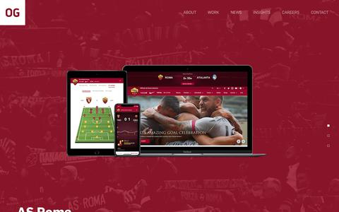 Screenshot of Home Page omnigon.com - OMNIGON: HOME | Digital Strategists, Artists & Technologists - captured Oct. 19, 2018