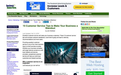15 Customer Service Tips to Make Your Business a Standout