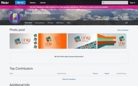 Screenshot of Flickr Page flickr.com - Flickr: The faculdadeuniq Pool - captured Oct. 23, 2014