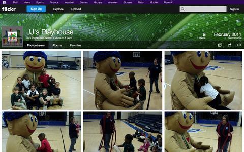 Screenshot of Flickr Page flickr.com - Flickr: JJ's Playhouse Children's Museum & Gym's Photostream - captured Oct. 23, 2014