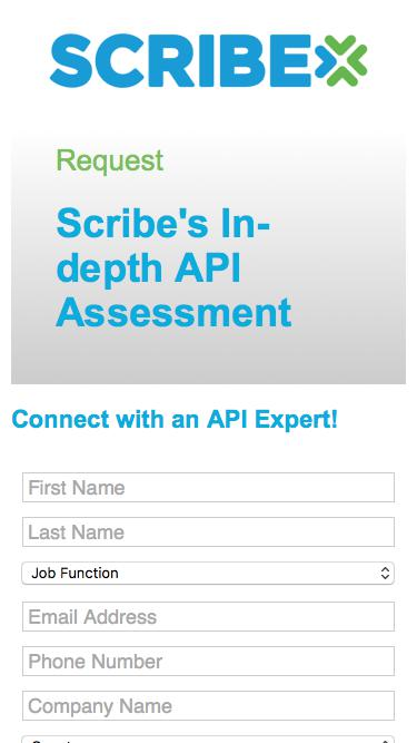 Request: Scribe's In-depth API Assessment | Scribe Software