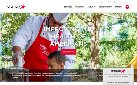 Aramark | Food, Facilities, and Uniform Services