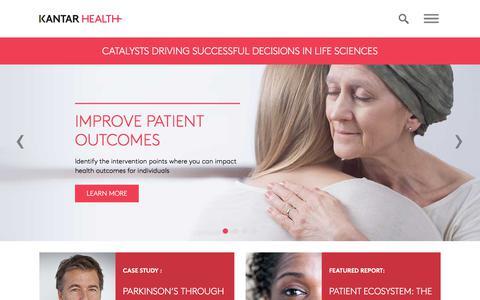 Home | Kantar Health