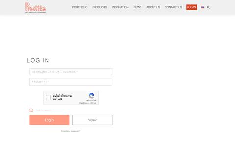 Screenshot of Login Page practika.com - Login - Practika - Industrial Customized Office Furniture - captured Sept. 29, 2018