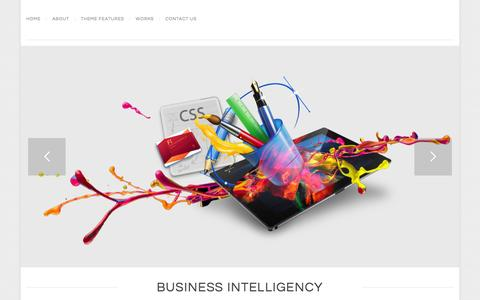 Screenshot of Home Page businessintelligency.biz -   Business Intelligency develops Retina E-Commerce Website with WordPress - captured Jan. 7, 2016
