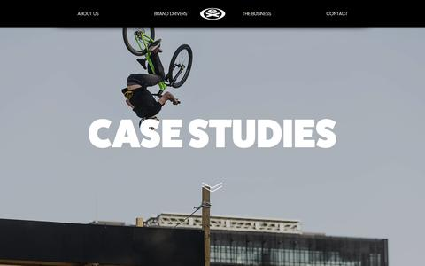 Screenshot of Case Studies Page extremesportscompany.com - EXTREME Case Studies - captured Sept. 25, 2018