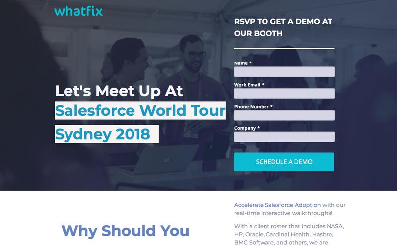 Meet Whatfix at SaaStr 2018