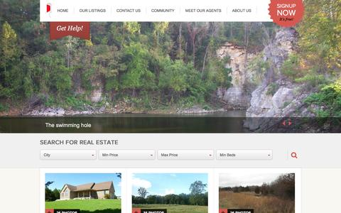 Screenshot of Home Page stewartandkiefer.com - Welcome to Stewart & Kiefer, REALTORS LLC! Visit often as our listings are constantly changing. - captured Feb. 24, 2016