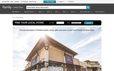 Family Christian Retail Stores