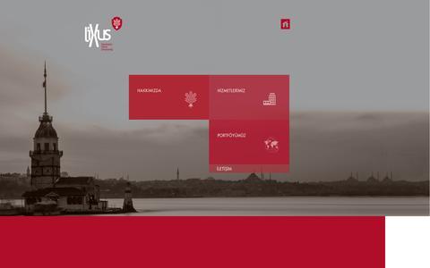 Screenshot of Home Page lixus.com.tr - lixus - captured Oct. 8, 2014
