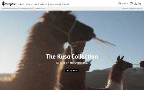 The Kusa Collection                      – Cotopaxi