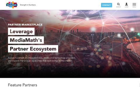 Partner Marketplace – MediaMath