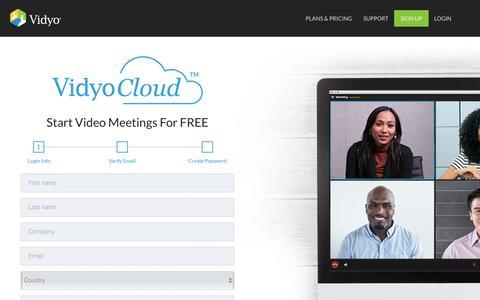 VidyoCloud eCommerce Portal