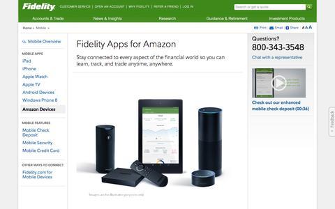 Amazon Apps - Fidelity