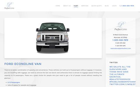 Ford Econoline Van - Perfect Limo