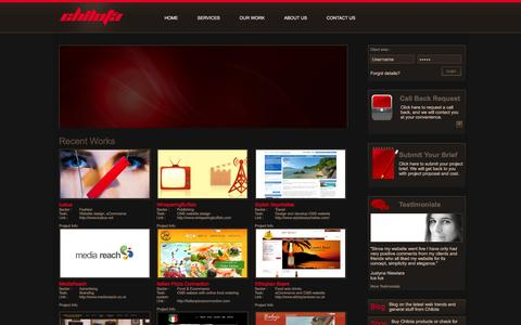 Screenshot of Home Page Site Map Page chilota.com - Chilota - Web Design Company, Digital Agency, eCommerce Design, Branding, London UK - captured Dec. 8, 2015