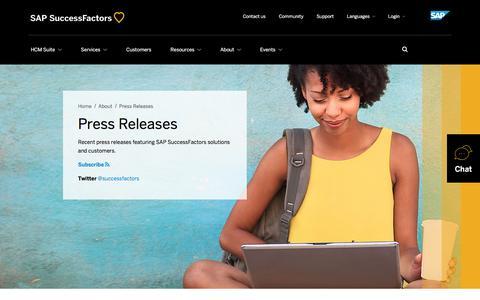 Press Releases             | SuccessFactors