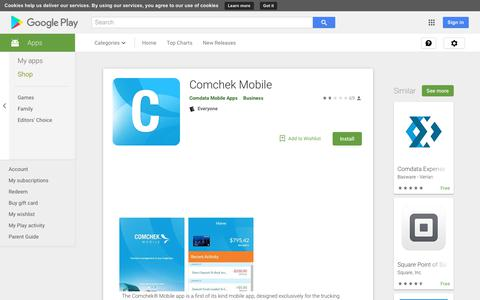 Comchek Mobile - Apps on Google Play