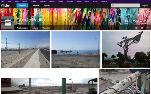 Screenshot of Flickr Page flickr.com - Flickr: CalloCorp's Photostream - captured Oct. 22, 2014