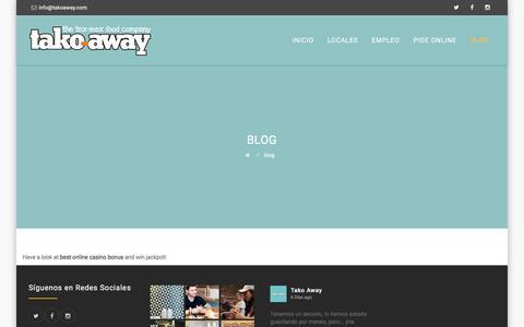 Screenshot of Blog takoaway.com - blog | Takoaway - captured Nov. 14, 2017
