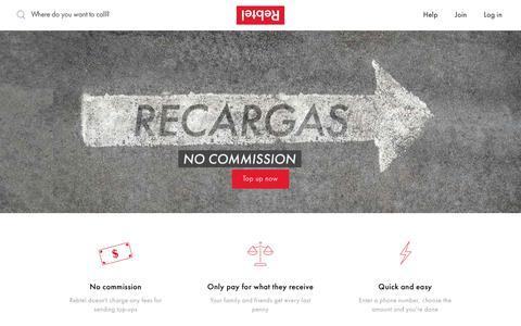 Send recargas to Cuba | Rebtel.com