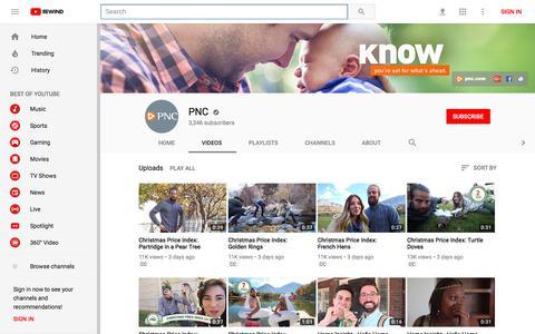 PNC - YouTube - YouTube