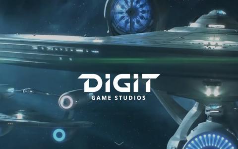 Screenshot of Home Page digitgaming.com - DIGIT Game Studios - captured Nov. 14, 2018