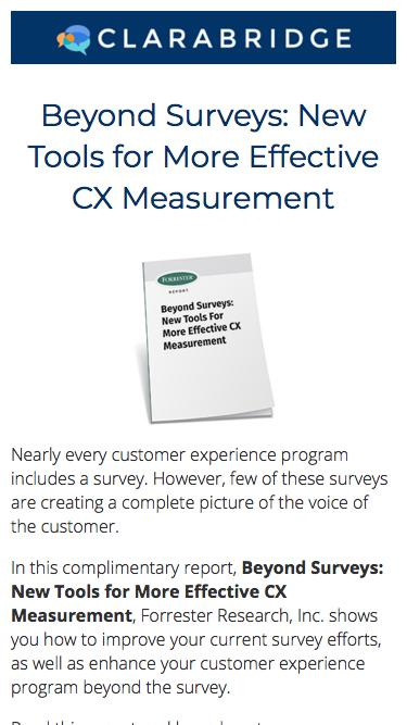 Beyond Surveys: New Tools For More Effective CX Measurement