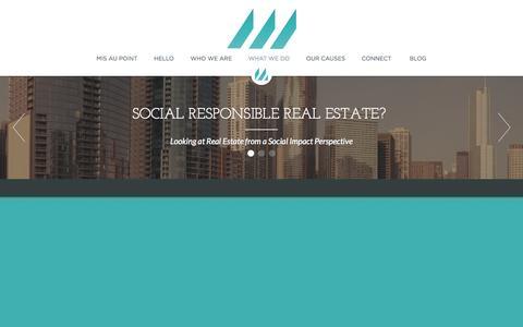 Screenshot of Home Page maisonette.org - Maisonette - captured Oct. 4, 2014