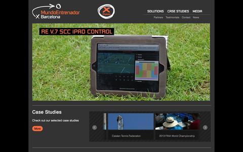 Screenshot of Home Page mebcn.com - MEbcn - captured Jan. 27, 2015