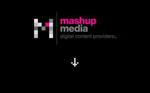 Screenshot of Home Page mashupmedia.ie - Mashup Media, Creative Digital Agency and  360 degree video production company in Dublin, Ireland - captured Aug. 9, 2016