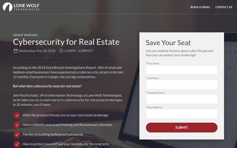 Cybersecurity for Real Estate