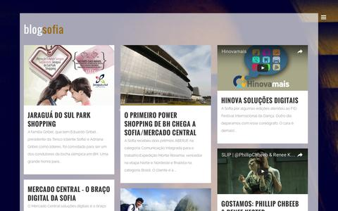 Screenshot of Blog sofiacom.com.br - Blog - Sofia Comunicação - captured Nov. 30, 2016