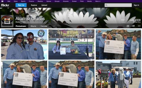 Screenshot of Flickr Page flickr.com - Flickr: Alcatraz Cruises' Photostream - captured Oct. 23, 2014