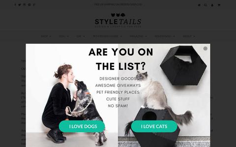 Screenshot of Terms Page styletails.com - STYLETAILS Terms & Conditions | STYLETAILS - captured Sept. 24, 2018