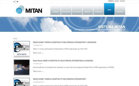 Screenshot of Press Page mitan.info - Mitan |   News - captured Oct. 26, 2014