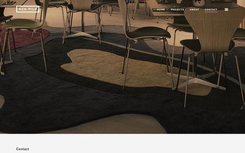 Screenshot of Contact Page kenpils.se - Ken Pils   Contact - captured Feb. 12, 2016