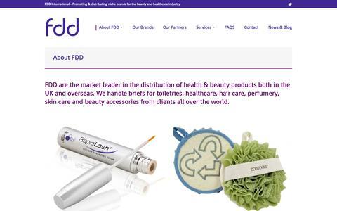 Screenshot of About Page fddinternational.com - About FDD - Fdd International - captured Sept. 30, 2014